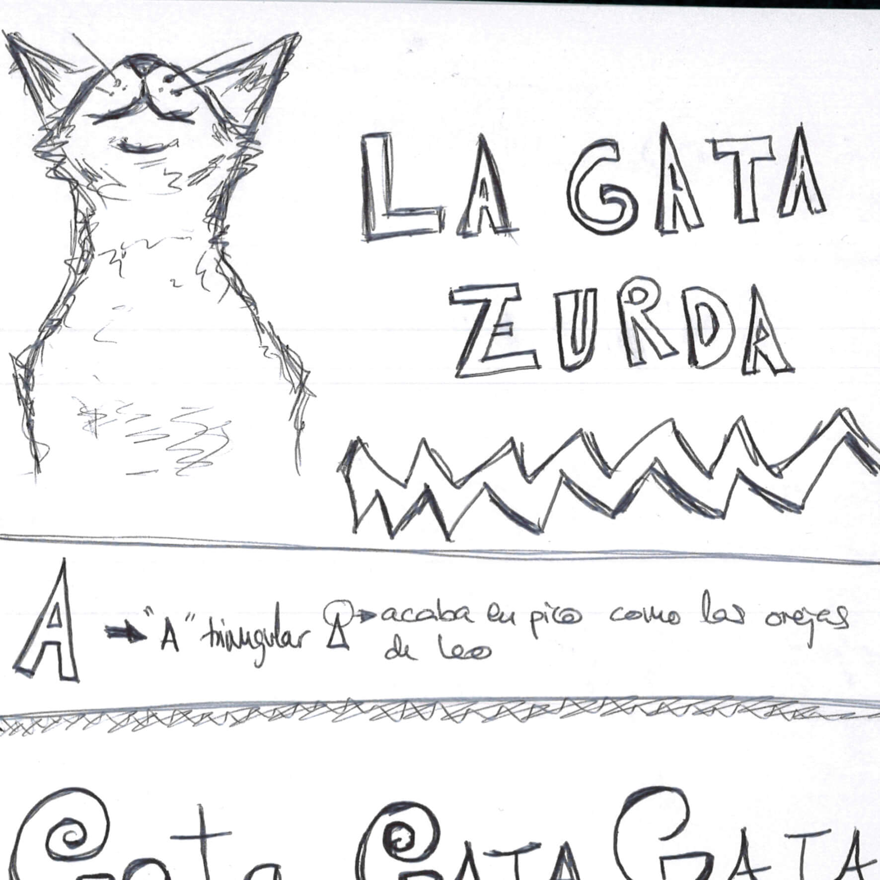 """¿Por qué """"La Gata Zurda""""?"""
